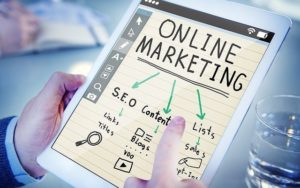 What's an online marketing Company?