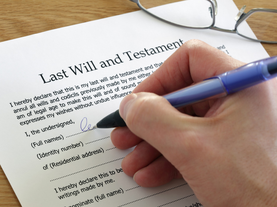 wills writing services